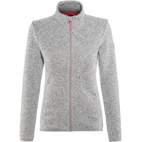 High Colorado Rax 3 Strickfleece-Jacke Damen grau melange